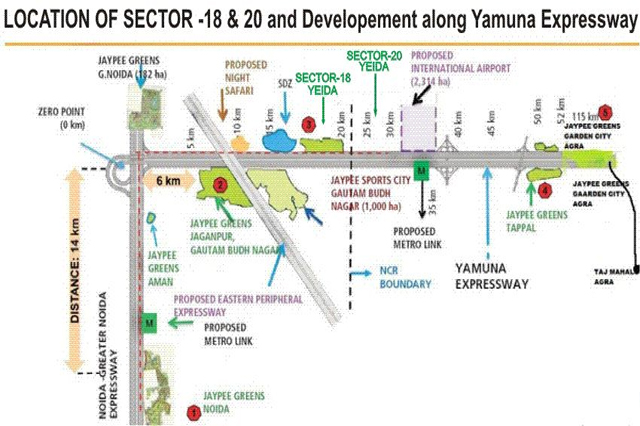 Plots in Sector-20 Yamuna Expressway